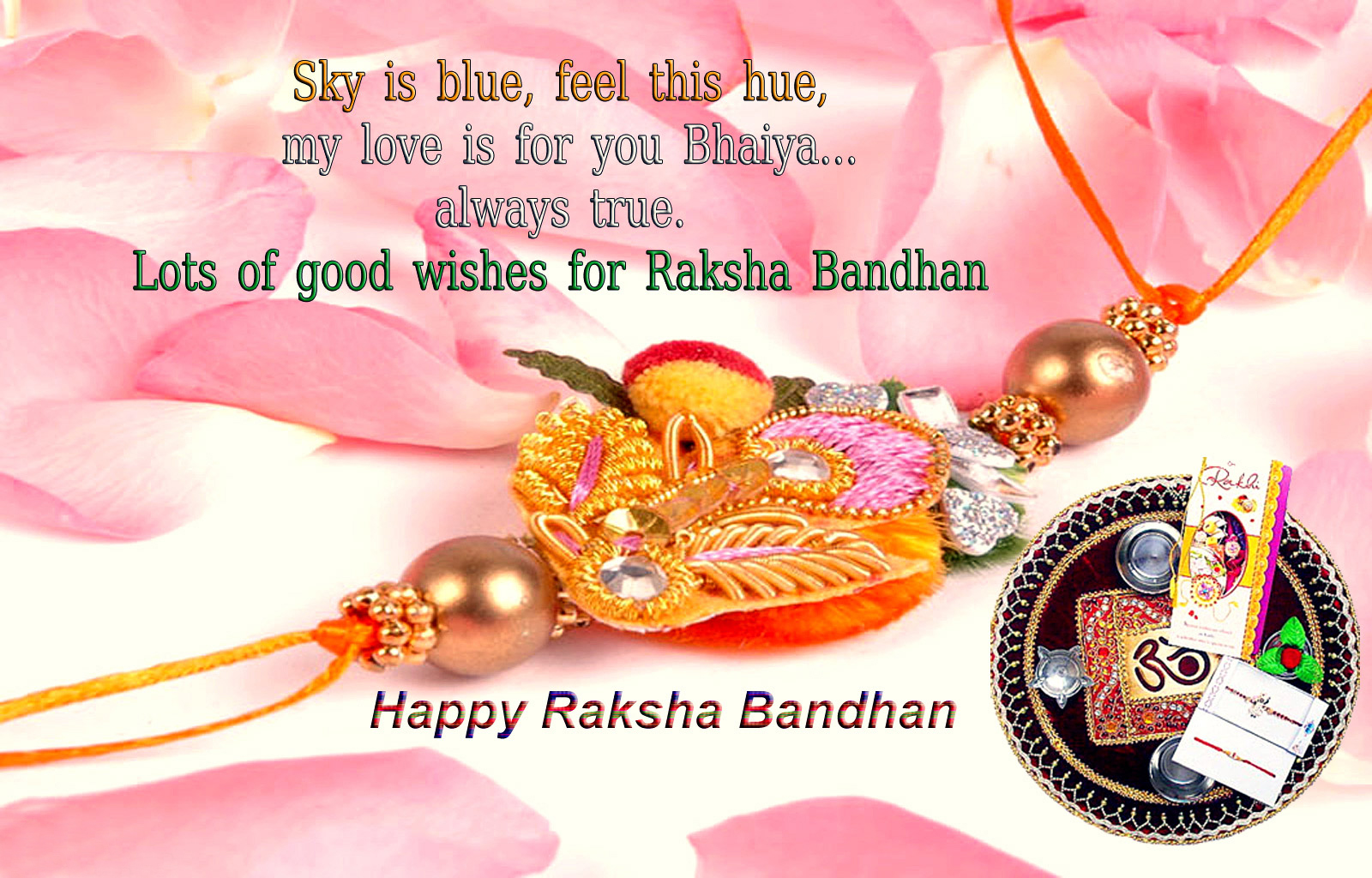 Happy Raksha Bandhan Greeting Cards