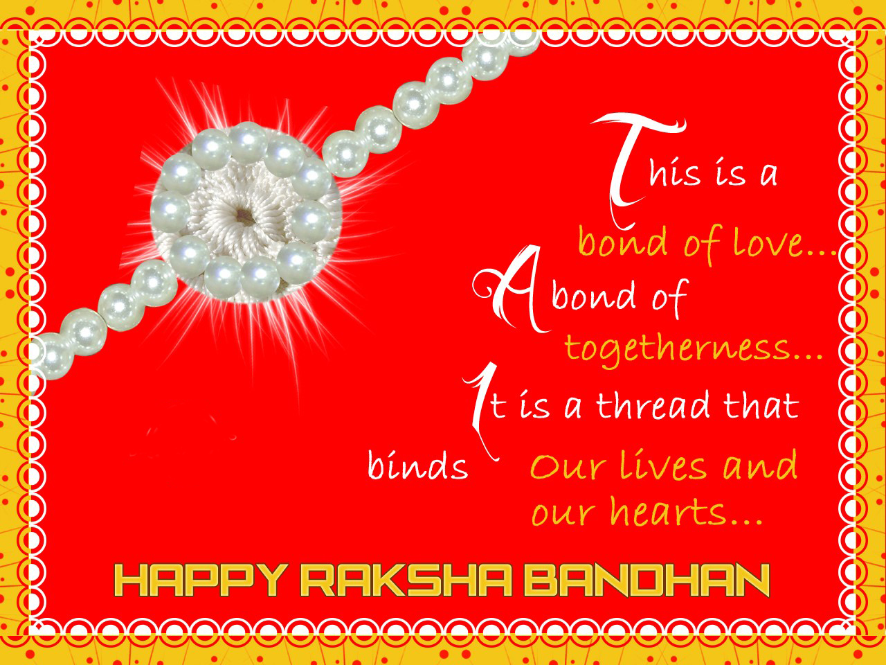 Happy raksha bandhan greeting cards brothers and sisters download raksha bandhan greeting cards kristyandbryce Choice Image