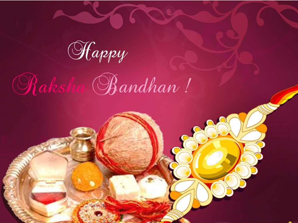 Happy Raksha Bandhan Greeting Cards Brothers And Sisters