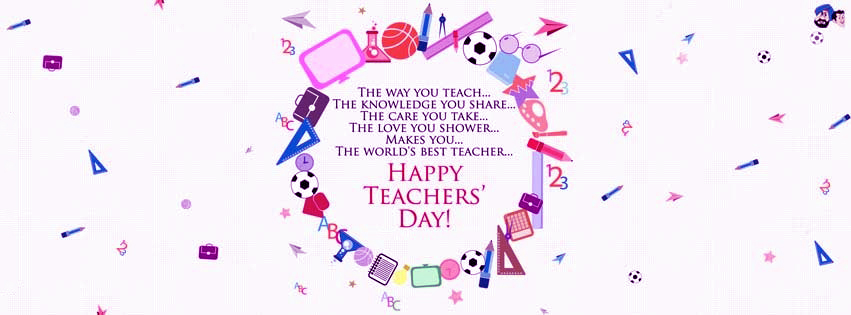 Happy Teachers Day Facebook Covers, Photos, Banners 2015 5