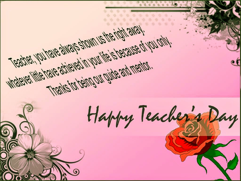 Teachers Day Greeting Card 5