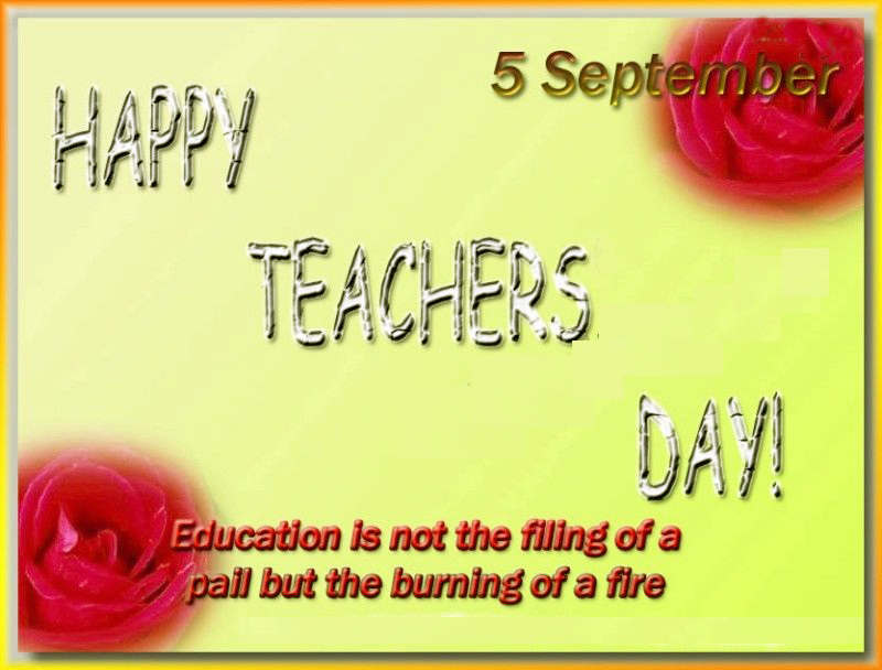 Teachers Day Greeting Card 8