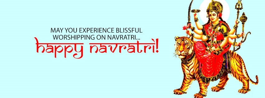 Navratri Durga FB Covers Banners Free Download7
