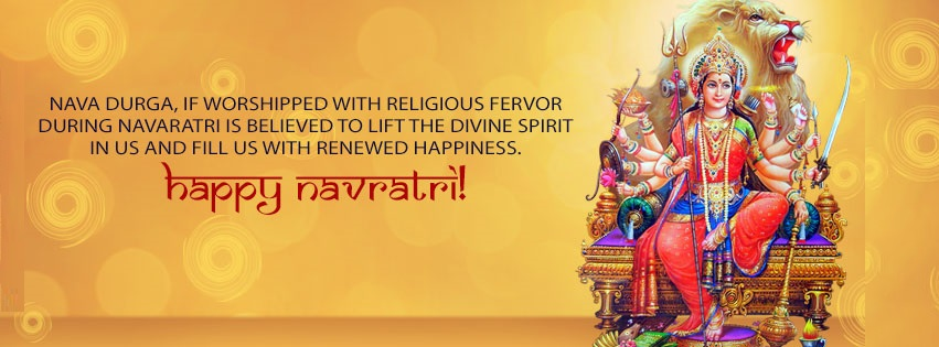 Navratri Durga Facebook Cover Photo Banners Free Download7