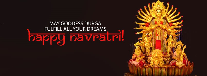 Navratri Durga Facebook Cover Photo Banners Free Download8