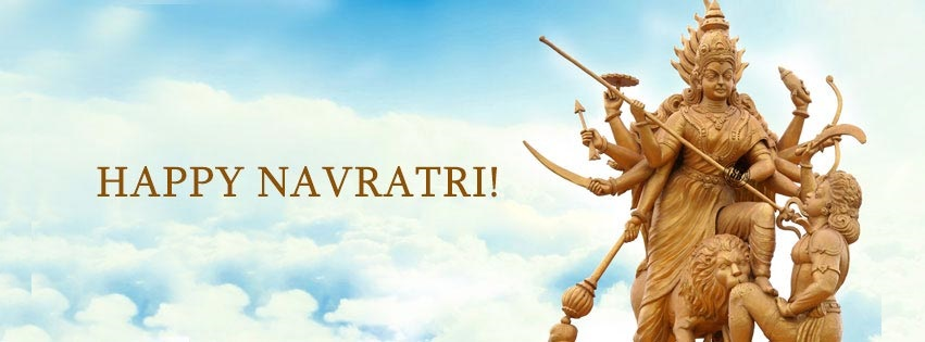 Navratri Durga Facebook Covers Banners Free Download4