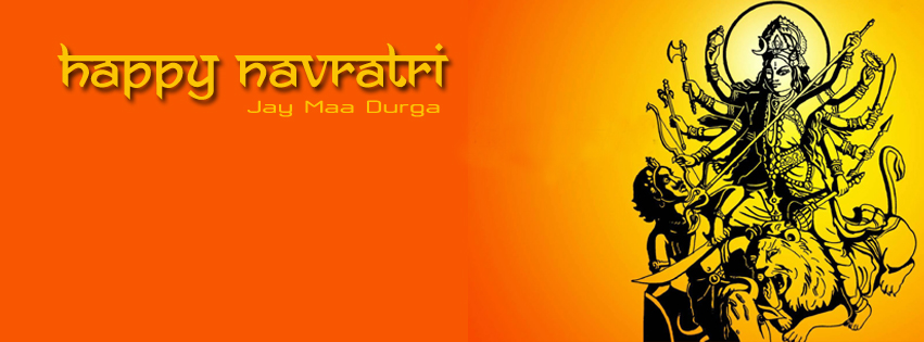 Navratri Durga Maa FB Covers Banners Free Download5