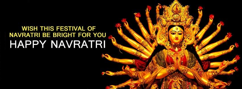 Navratri Durga Maa FB Covers Banners Free Download8