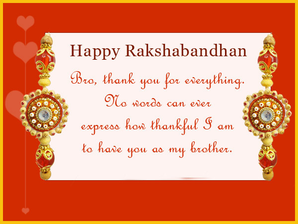 Happy Raksha Bandhan Greeting Cards [Brothers and Sisters]