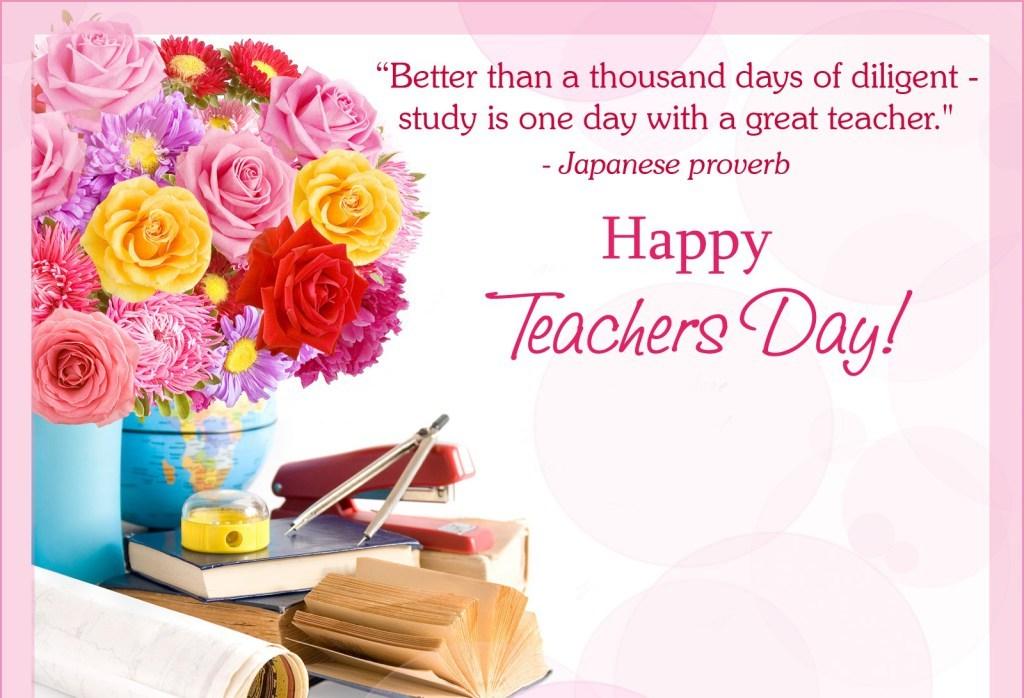 Happy Teachers Day Whatsapp status & messages