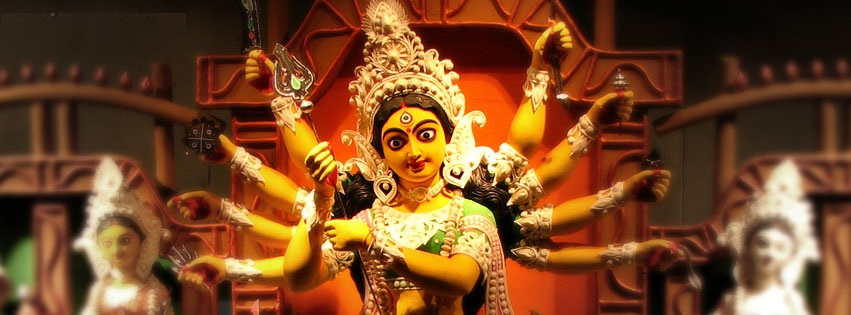 Navratri Durga Facebook Cover Photo Banners Free Download