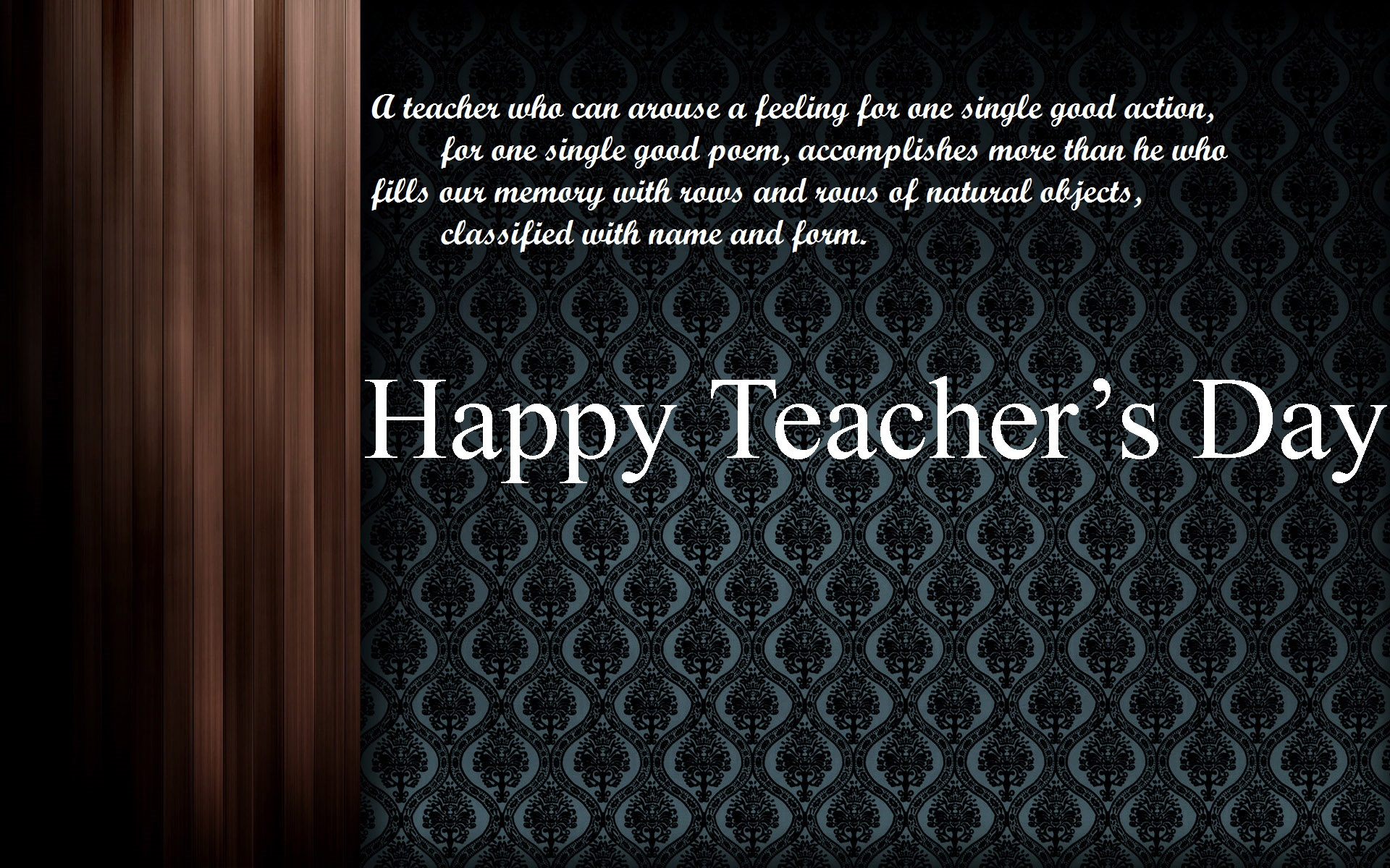 {2017} Happy Teachers Day HD Images, Wallpapers, Pics, And Photos (Free  Download)