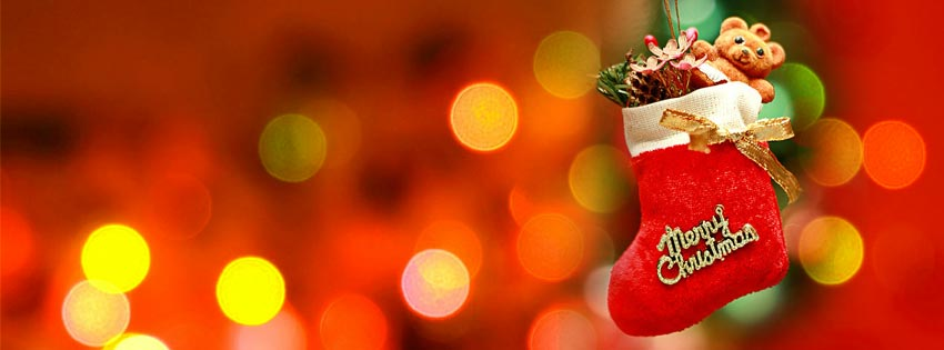 Merry Christmas Facebook Cover, Merry XMAS Messages and Quotes