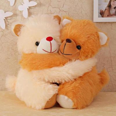 Hugging Teddies