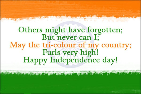 Independence Day Messages in English, Hindi, Marathi