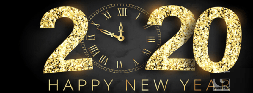 Happy New Year FB Cover Photo -Free Download
