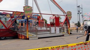 One dead and seven injured oncarousel in Ohio