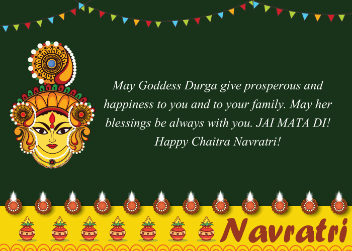 Happy Navratri Wishes, Messages, SMS, Quotes 2020